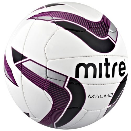 Mitre Malmo Training Football - White