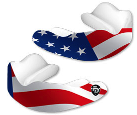 Fight Dentist Mouthguard - Stars & Stripes