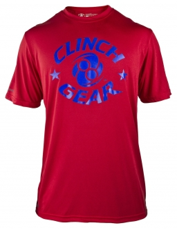 Clinch Gear Icon Prolete T Shirt - Red