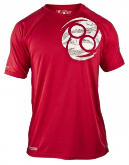 Clinch Gear Filled Prolete T Shirt - Red