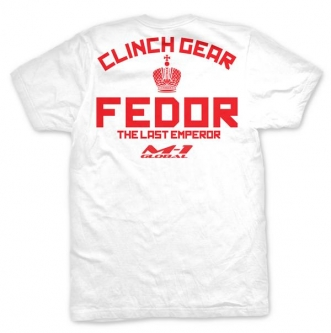Clinch Gear Fedor Strikeforce Walkout T Shirt - White