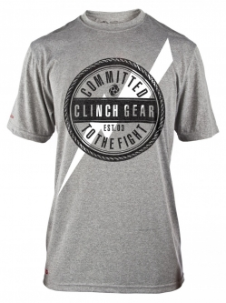 Clinch Gear Donnie T Shirt - Grey