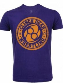 Clinch Gear Wrestling Athletic T Shirt - Purple