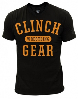Clinch Gear Wrestling Classic T Shirt - Black