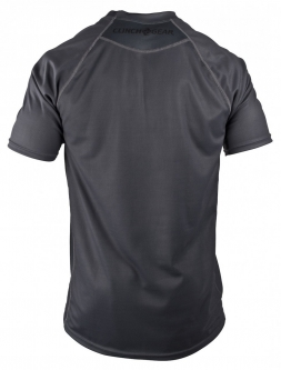 Clinch Gear Crossover Short Sleeve Tech Top - Charcoal