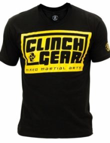 Clinch Gear Hero T Shirt - Black