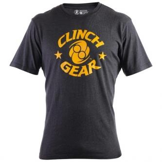 Clinch Gear Icon T Shirt - Black & Yellow