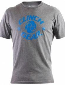 Clinch Gear Icon T-Shirt Grey & Blue