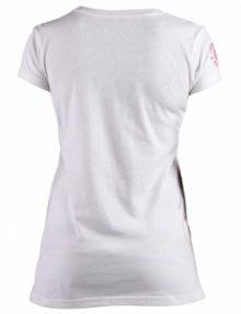 Clinch Gear Women's Paisley T Shirt - White