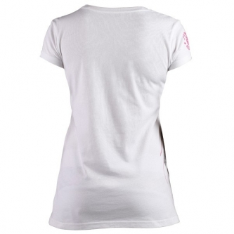Clinch Gear Women's Paisley T Shirt - White