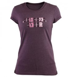 Clinch Gear Women's Prep T Shirt - Burgundy