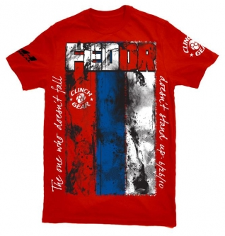 Clinch Gear Fedor HGP Walkout T Shirt - Red