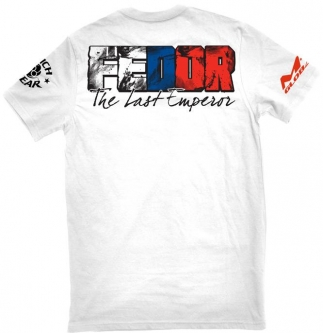 Clinch Gear Fedor HGP Walkout T Shirt - White