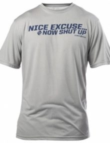 Clinch Gear Excuse T Shirt - Grey