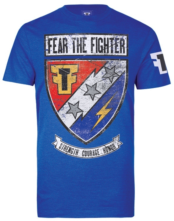 Fear the Fighter Hero - Blue