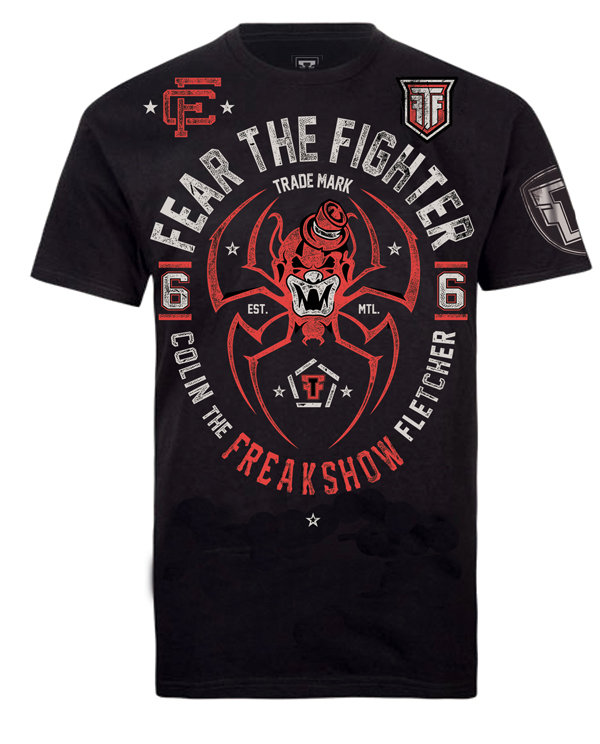 Fear The Fighter Colin The Freak Show UFC Walkout - Black