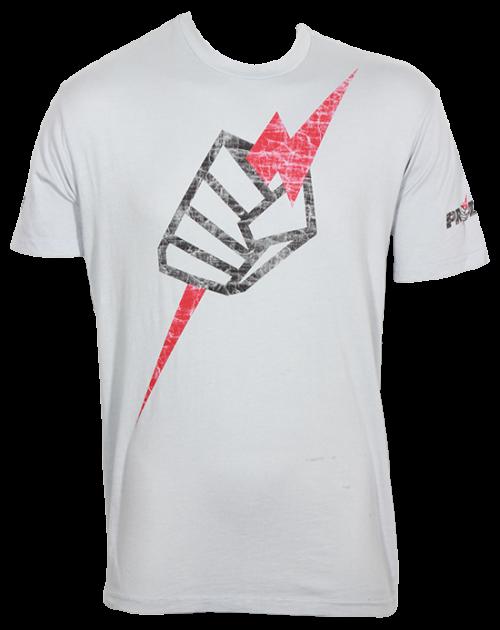 Pride FC Fist Tee - Grey