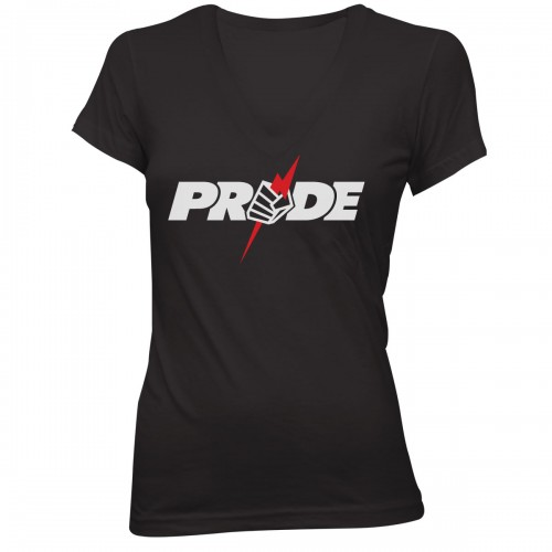 Pride Womens Logo Tee - Black