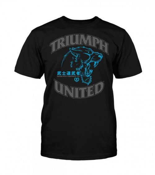 Triumph United Premium Tshirt Guardian - Black