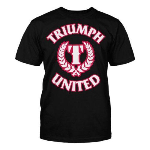 Triumph United Premium Tshirt Icon 4 - Black