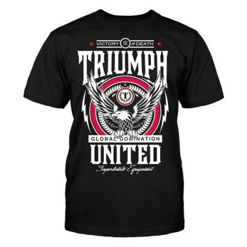 Triumph United Premium Tshirt Terror - Black