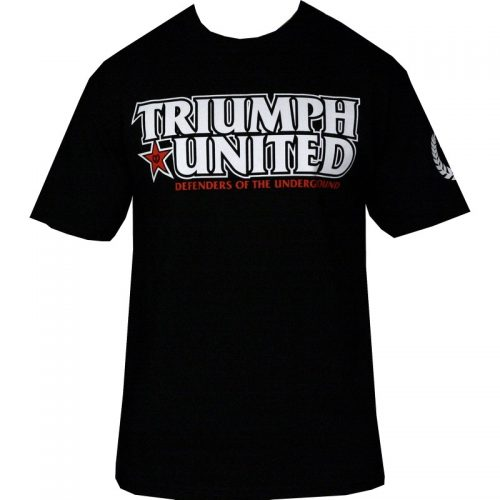 Triumph United Defend T Shirt - Black