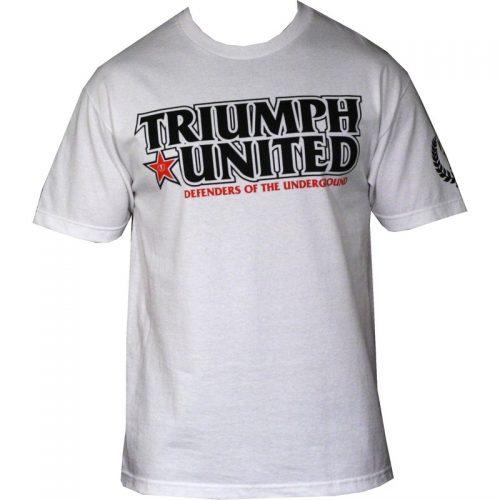 Triumph United Defend T Shirt - White