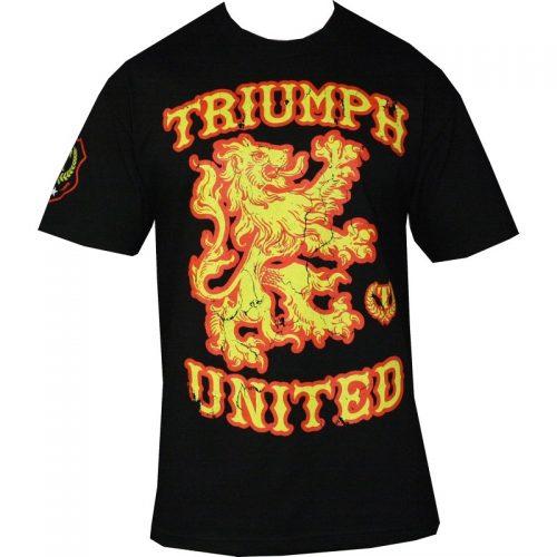 Triumph United Griff 2.0 T Shirt - Black