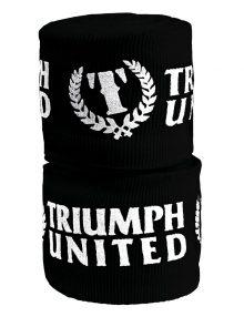 Triumph United 2 Inch Printed Elastic Handwrap - Black