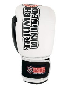 Triumph United Storm Trooper Pro Boxing Glove - White