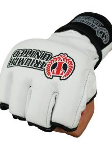 Triumph United Storm Trooper Pro MMA Gloves - White