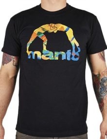 Manto Marker Mens T Shirt - Black