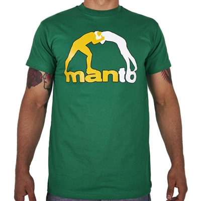 Manto Classic 13 Mens T Shirt - Green