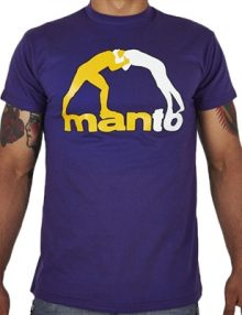 Manto Classic 13 Mens T Shirt - Purple