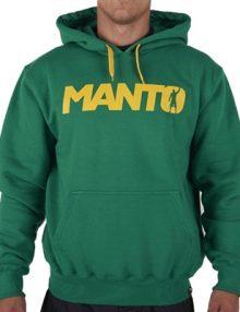 Manto Victory Mens Hoodie - Green