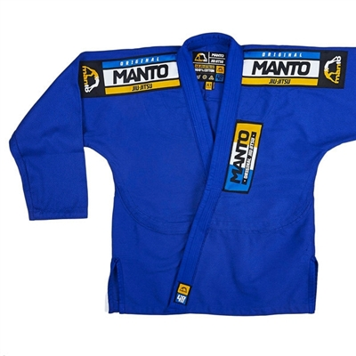 Manto IV Mens BJJ Gi - Blue