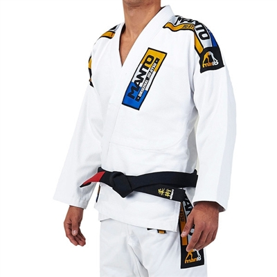 Manto IV Mens BJJ Gi - White