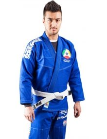 Scramble The Athlete Mens BJJ Gi - Blue