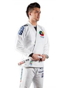 Scramble The Athlete Mens BJJ Gi - White