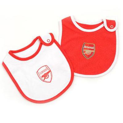 Arsenal F.C. 2 Pack Bibs
