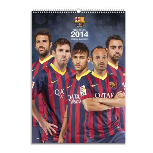 F.C. Barcelona Calendar 2014