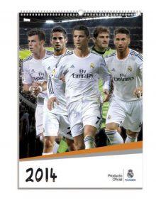 Real Madrid F.C. Calendar 2014