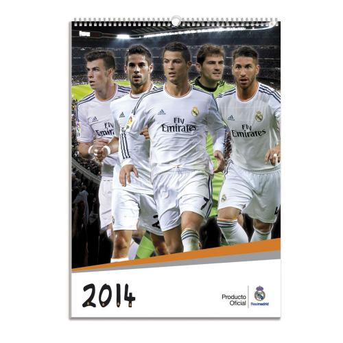 Real Madrid F.C. Calendar 2014