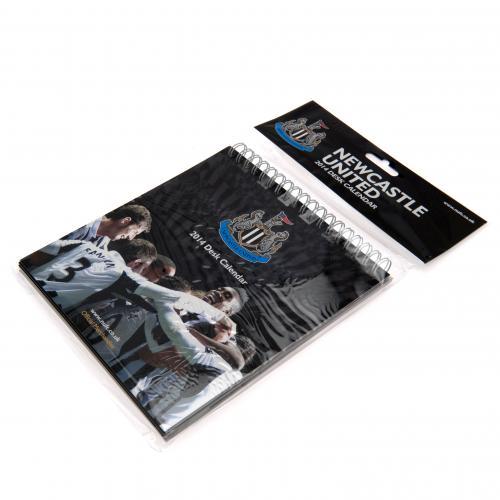 Newcastle United F.C. Desktop Calendar 2014