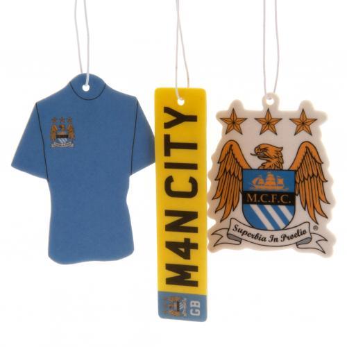 Manchester City F.C. 3pk Air Freshener