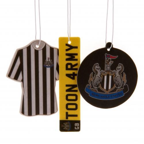 Newcastle United F.C. 3pk Air Freshener