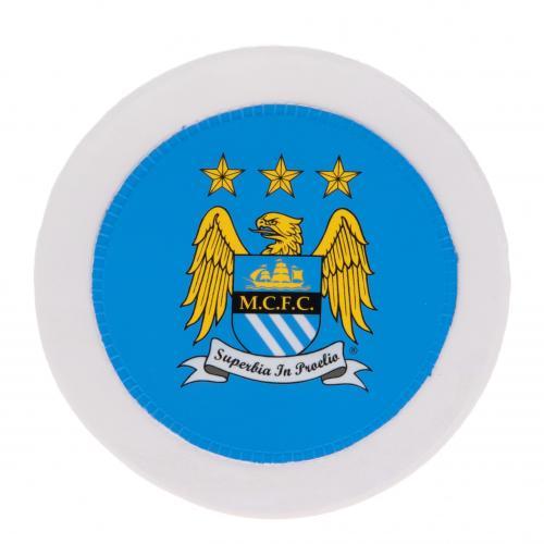 Manchester City F.C. Round Tax Disc Holder