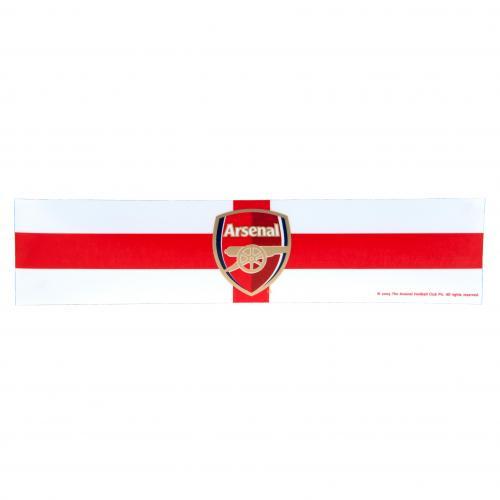 Arsenal F.C. Window Sticker St George