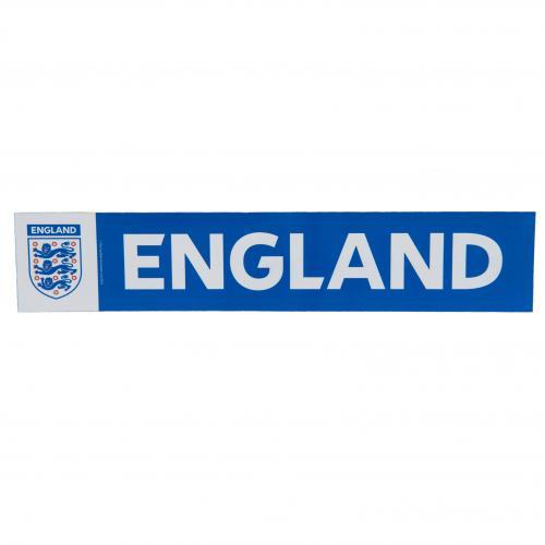 England F.A. Car Sticker BW