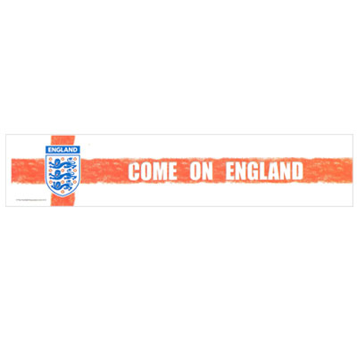 England F.A. Car Sticker St George